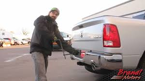 lowering the spare tire on ram trucks brandl media minute 12