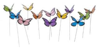 buy casebuy 3d diy simulated colorful butterfly garden ornaments