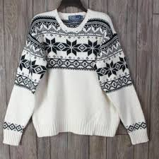 snowflake sweater shop blue snowflake sweater on wanelo