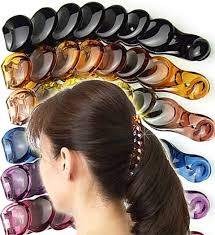 banana clip for hair bijinkoeido rakuten global market banana simple and ease