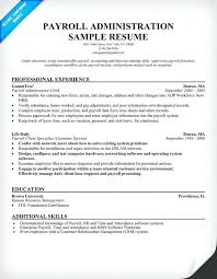 payroll manager resume payroll resume sles how to make a resume for a receptionist