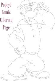 18 best popeye images on pinterest coloring coloring