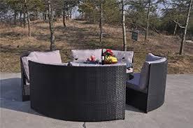 Outdoor Rattan Garden Furniture by Yakoe 10 Seater Round Dining Set Rattan Garden Furniture Patio