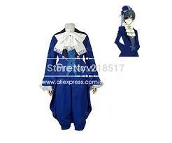 Birthday Suit Halloween Costume Aliexpress Buy Black Butler Cosplay Ciel Phantomhive