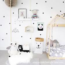 Aliexpresscom  Buy Black Gold Pink Polka Dots Star Wall Sticker - Cheap wall decals for kids rooms