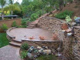 Stone For Garden Walls by Garden Inspiring Image Of Garden Landscape Decoration Using