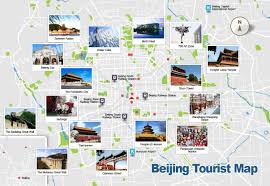 map attractions beijing map map of beijing s tourist attractions and subway