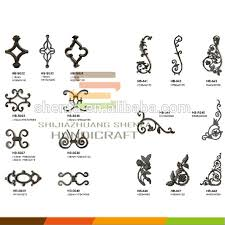 cast iron ornaments wrought iron models for decoration buy