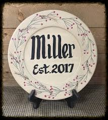 personalize plate personalized plate every day berry vine a work of heart biz