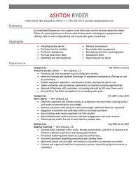 retail resume exles best retail salesperson resume exle livecareer