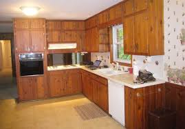 amber u0027s 1961 knotty pine kitchen before and after retro renovation