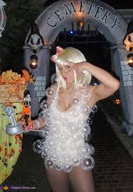 lady gaga u0027s bubble halloween costume
