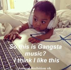 Baby Headphones Meme - 50 cent releases more pics of his baby son sire jackson and he