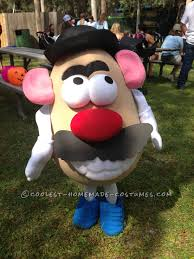 Best Original Halloween Costumes by Fully Functional Mr Potato Head Costume Mr Potato Head Costume
