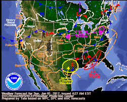 national weather forecast map wpc daily forecast map archive