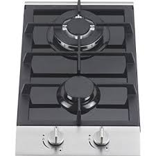 Gas Countertop Range Kitchen Cooktops Amazon Com Ramblewood High Efficiency 2 Burner Gas Cooktop