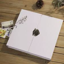cheap wedding photo albums aliexpress buy 16 inch white lock photo album scrapbook