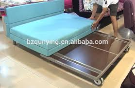 metal frame sofa bed cheap hospitality space saving sofa bed metal frame for small