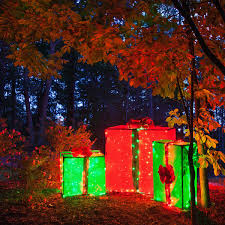 diy lighted outdoor christmas decorations diy christmas decorations 4 lighted gift boxes diy outdoor