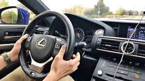 lexus rc 300 manual transmission 2015 lexus rc f paddle shifter demo youtube