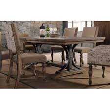 Driftwood Kitchen Table Driftwood And Metal Dining Table Metropolitan Collection Rc