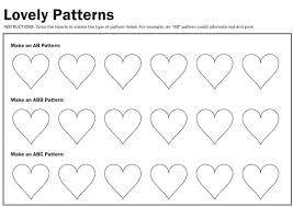 ideas about ab pattern worksheets for kindergarten wedding ideas