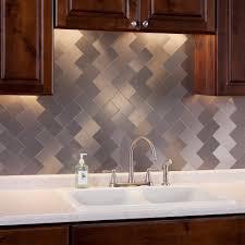 kitchen backsplashes peel and stick backsplash kits subway tile