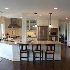 kitchen with island and peninsula kitchens island and peninsula kitchen layouts designs