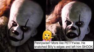 Pennywise The Clown Meme - pettywise is now a meme and it s the most savage thing you ll