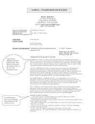 federal government job cover letter sample professional resumes