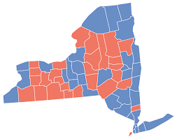 New York Political Map by File New York Presidential Election Results By County 2008 Svg