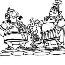obelix romans crazy adventure asterix coloring