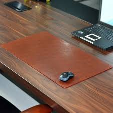 Office Desk Pad Office Desk Mat Leather 700x380x30mm Waterproof Genuine Cowhide