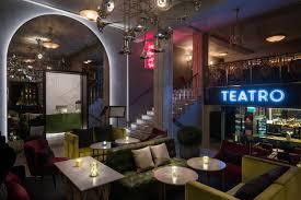 mid century lighting designs shine in oslo modern restaurant