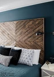 Reclaimed Wood Headboard King Amazing Of Diy Wooden Headboard Ana White Reclaimed Wood Look