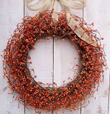 creative fall decorating ideas for a grapevine wreath