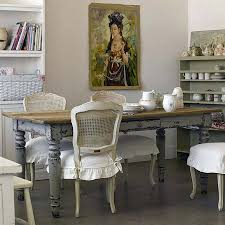 shabby chic dining furniture vintage wooden high chairs
