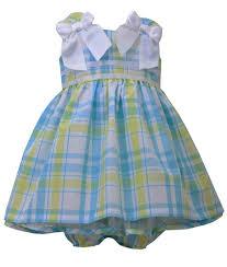 bonnie jean baby plaid dress