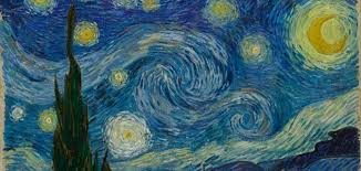 complementary paint colors vincent van gogh the starry night 631 jpg