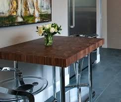 walnut breakfast bar table walnut butcher block breakfast bar table custom dining tables