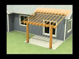 How To Build A Pergola Roof by Design Of A Roof Addition Over An Existing Concrete Patio In