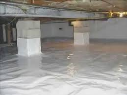 inferior 6 mil plastic crawl space vapor barrier youtube