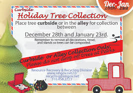 Waste Management Christmas Tree Pickup by Santa Monica Public Works Christmas Tree Recycling