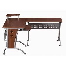 Desk L Shape Amazon Com Vip Suite Ergonomic Corner L Shaped Computer Desk