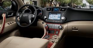 Toyota Highlander Interior Dimensions 2018 Toyota Highlander News Redesign Interior Design Price