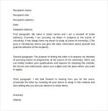 how to write a letter of intent for grad how to