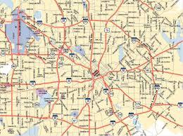 Dallas Metroplex Map by Map Of Dallas