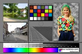 Colour Science Digital Test Images For Monitor And Printer Calibration Color Test Print Pdf