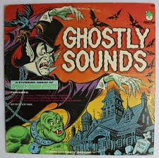 vintage ghostly sounds halloween music record haunted house sound