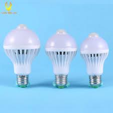 pir motion sensor lamp 5w led e27 bulb lights 7w 9w auto smart